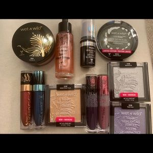 Brand New Wet & Wild Limited Editions Bundle